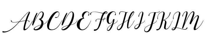 aesthetica Font UPPERCASE