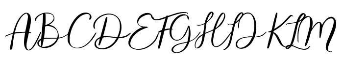 alandef Font UPPERCASE