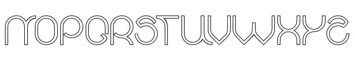 alberto-Hollow Font UPPERCASE