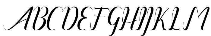 amandareguler-artdesign Font UPPERCASE