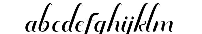 amandareguler-artdesign Font LOWERCASE