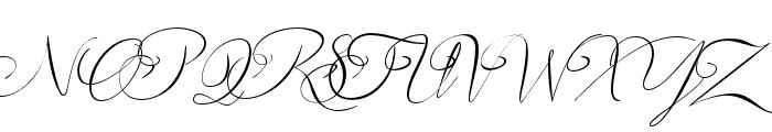andora ardelion Font UPPERCASE