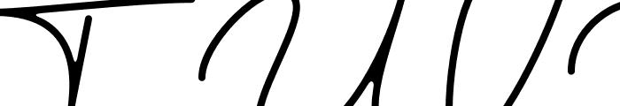 austinsigns Font UPPERCASE
