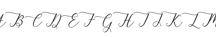 berlian Font UPPERCASE