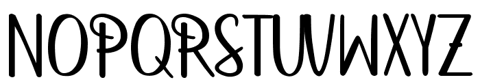 betterfly christmas Font UPPERCASE