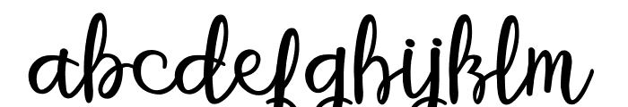 betterfly christmas Font LOWERCASE