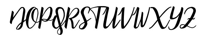 bicillesta Font UPPERCASE
