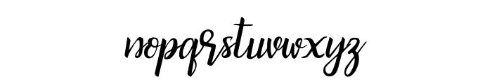 bicillesta Font LOWERCASE