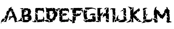 blackdogma Font UPPERCASE