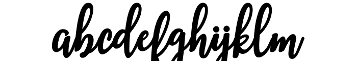 breather Font LOWERCASE