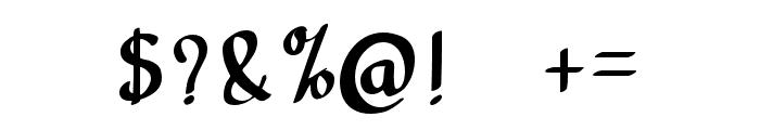 carpenter Regular Font OTHER CHARS