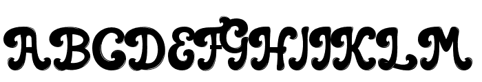 casbelov Bold Font UPPERCASE