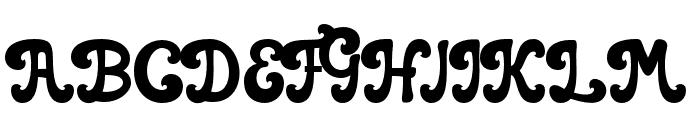 casbelov Regular Font UPPERCASE