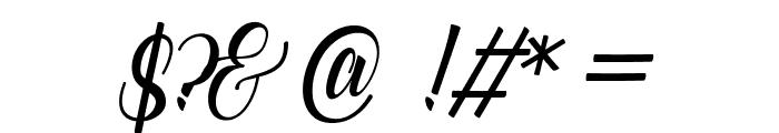 catfish script Font OTHER CHARS