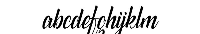 catfish script Font LOWERCASE