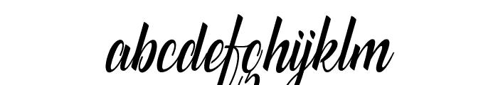 catfishscript Font LOWERCASE