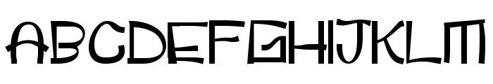 childspon Font UPPERCASE