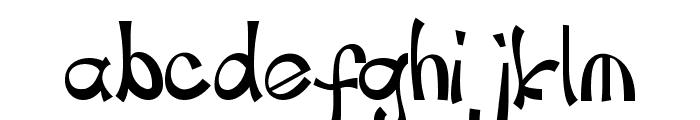 childspon Font LOWERCASE
