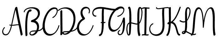 christday Font UPPERCASE