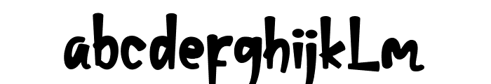 christopher Font LOWERCASE