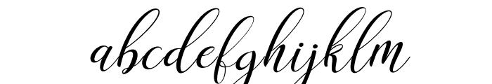 claudia-Italic Font LOWERCASE