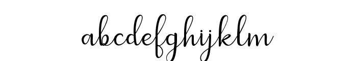 dahliascript Font LOWERCASE