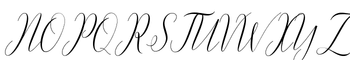 dearmother Font UPPERCASE