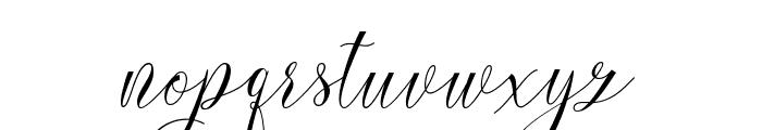 dearmother Font LOWERCASE