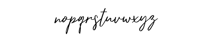 dreaming Font LOWERCASE