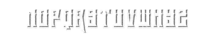 eltigresshadowone Font LOWERCASE