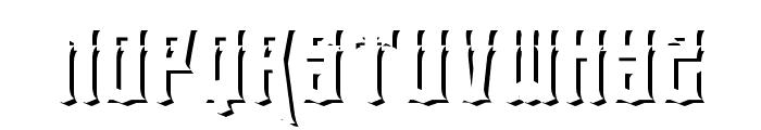 eltigresshadowtwo Font UPPERCASE