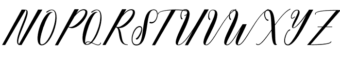 fadhil Font UPPERCASE