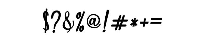 fadilla-Regular Font OTHER CHARS