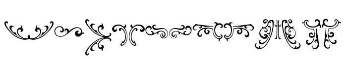famousflames-ornament Font UPPERCASE