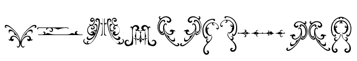 famousflames-ornament Font LOWERCASE