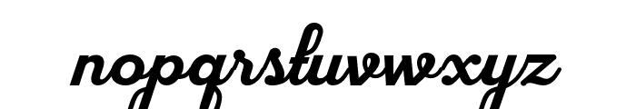 flourground Font LOWERCASE
