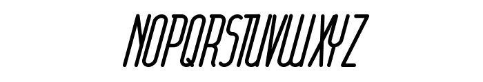 font furious Italic Font UPPERCASE