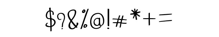 freebird Light Font OTHER CHARS