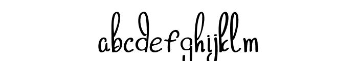 freebird Light Font LOWERCASE