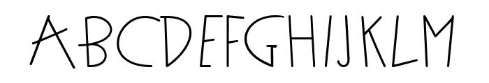 funkyman Font UPPERCASE