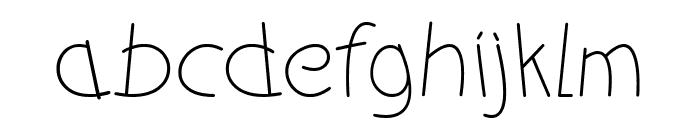 funkyman Font LOWERCASE