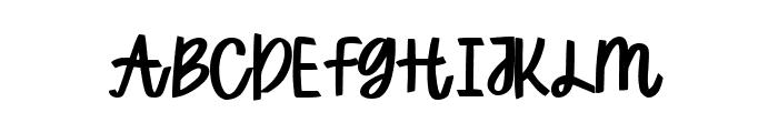 funny BERLINER Regular Font UPPERCASE