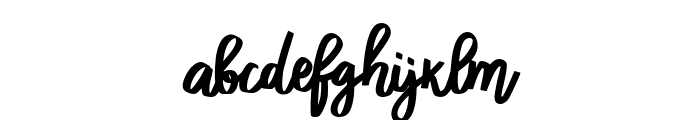funny BERLINER Regular Font LOWERCASE
