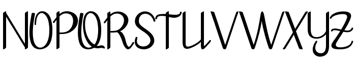 goodbye art design Font UPPERCASE