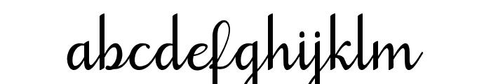 goodbye art design Font LOWERCASE