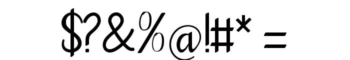 goodbye-artdesign Font OTHER CHARS