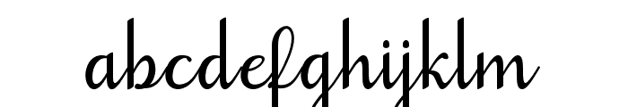 goodbye-artdesign Font LOWERCASE