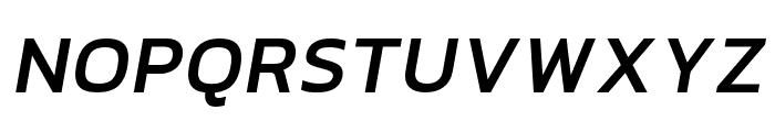 hailey-BoldItalic Font UPPERCASE
