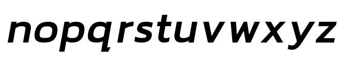 hailey-BoldItalic Font LOWERCASE
