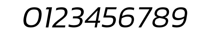 hailey-LightItalic Font OTHER CHARS